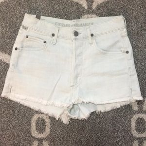 Citizens of Humanity High waisted shorts, 25